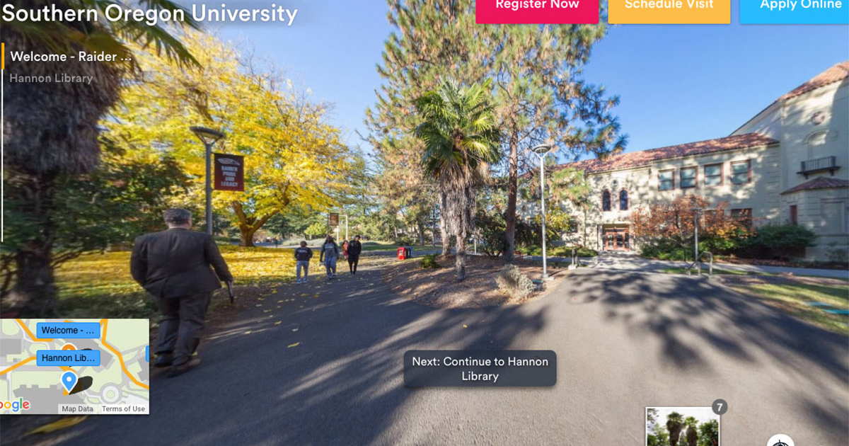 virtual campus tour-SOU
