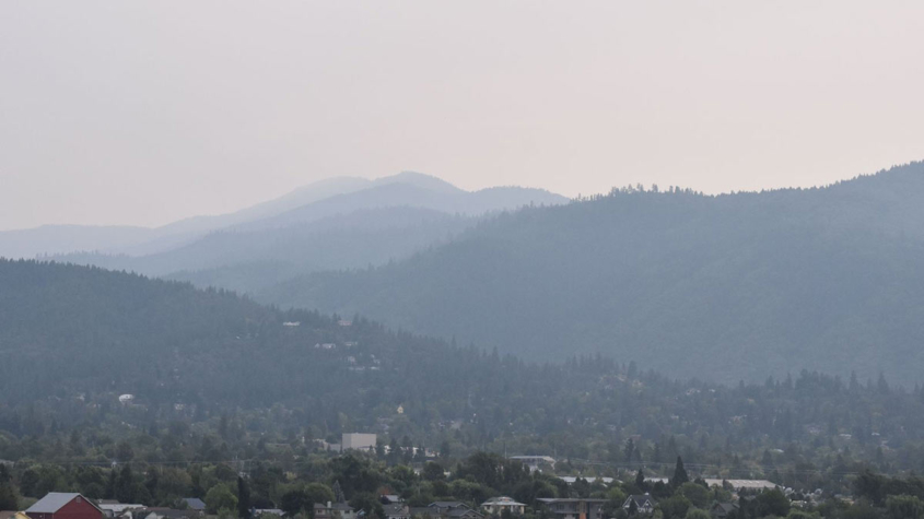 Ashland wildfire smoke