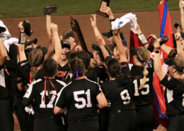 SOU's World Series champions raise their trophies