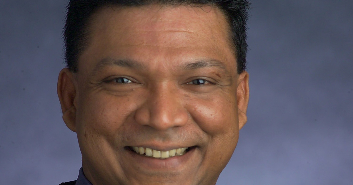 Suresh Appavoo, SOU's new Chief Diversity and Inclusivity Officer