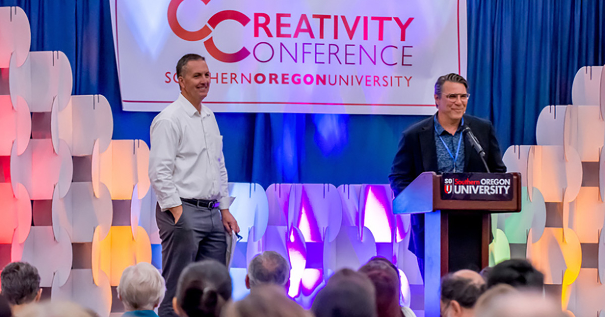 Participants welcomed to Creativity Conference at SOU