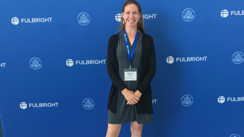 SOU's Alison Burke receives Fulbright scholarship