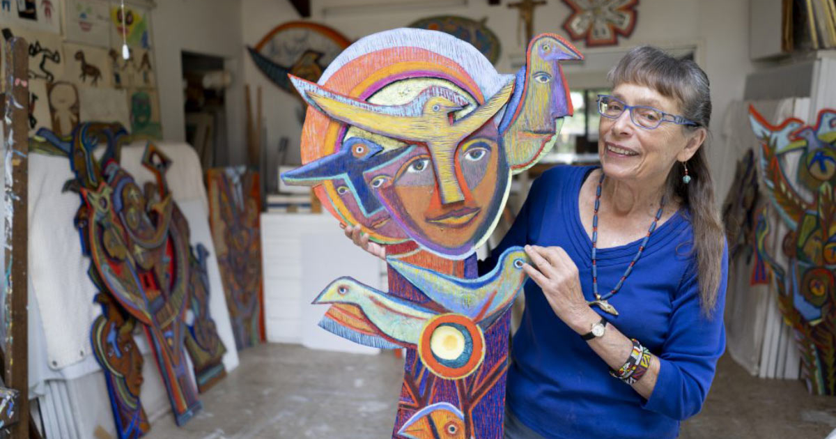 Betty LaDuke, recipient of Oregon Arts Medallion