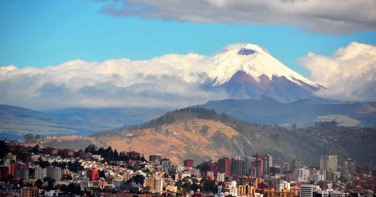 Quito, the capital of Ecuador, will be one of the stops during an SOU field course