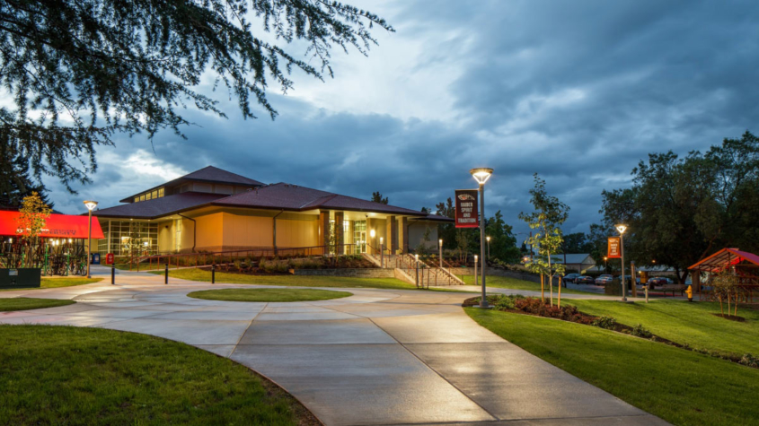 The Hawk and The Landing at SOU dining commons