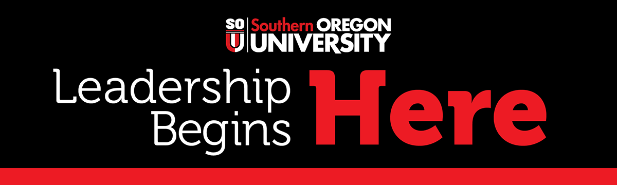 SOU Leadership Begins Here Header Logo