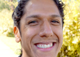 Student Sustainability Center Director Luis Berrios-Hayden wins scholastic award
