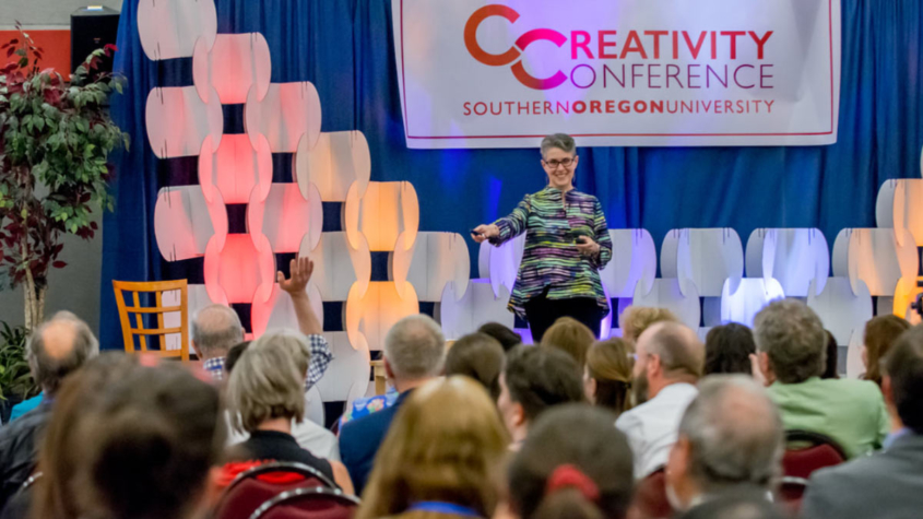 Session at an earlier Creativity Conference