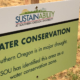 Water conservation zones at SOU are in response to an ongoing drought